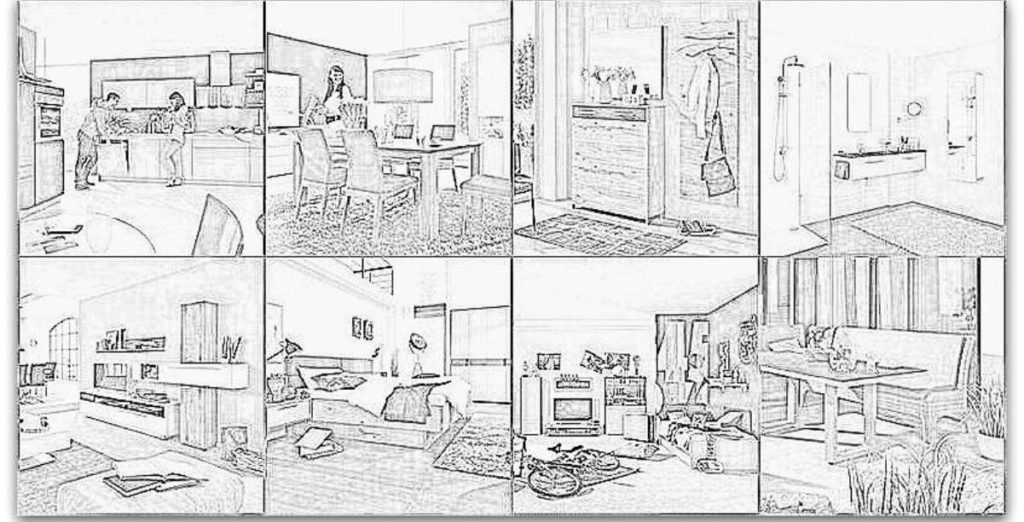 Das eigene Zuhause ist ein wichtiger Ort der Ruhe im Leben.